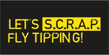 Lets' Scrap Fly-tipping logo