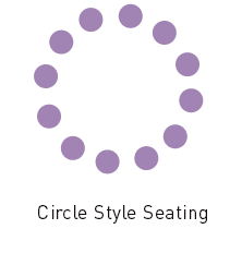 Circle style room layout