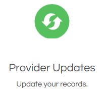 Provider updates icon
