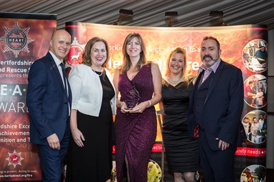 HEART 2017 - Community Safety Initiative of the Year Winner  - Safe and Well Project