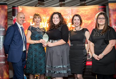 HEART 2017 - Team performance of the year winner - The Food and IP team