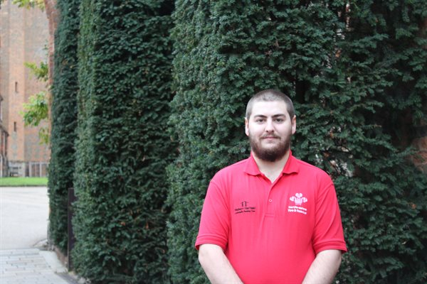 Prince's Trust recipient Daniel Smith