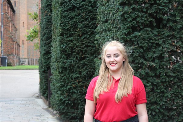 Prince's Trust recipient Katy Hunter
