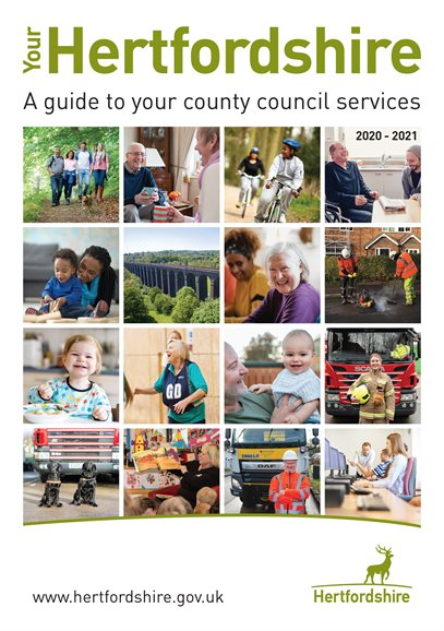 Your Hertfordshire - a guide to county council services for Hertfordshire residents