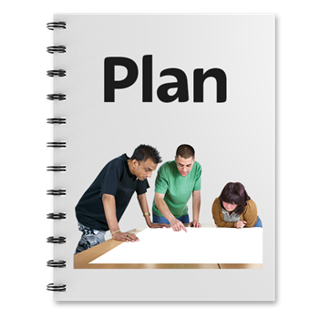 Plan folder photosymbol