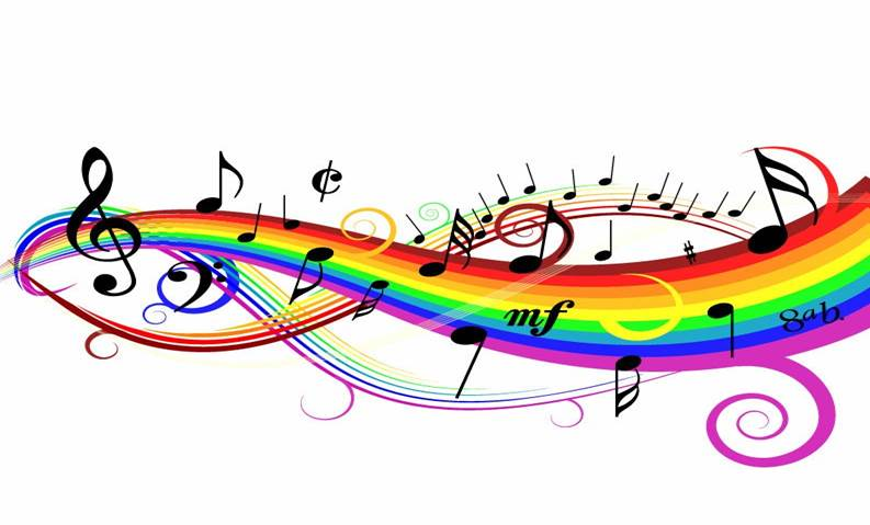 Music rainbow for sepsis song
