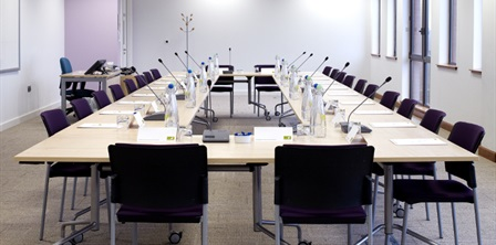 Meeting room at Robertson House, Stevenage