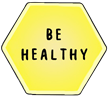 Be healthy, font and transparent