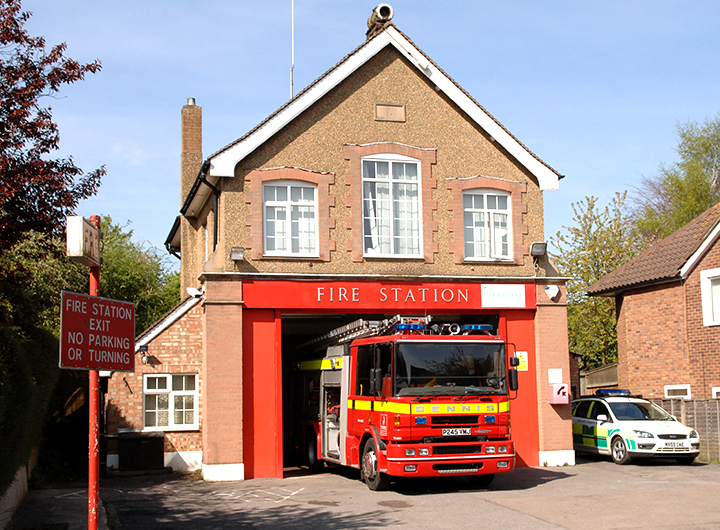 kings langley Fire Station