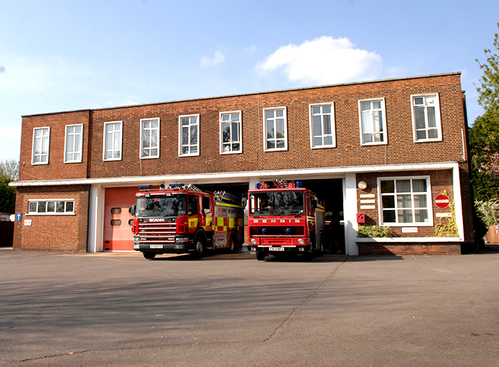 potters-bar fire station