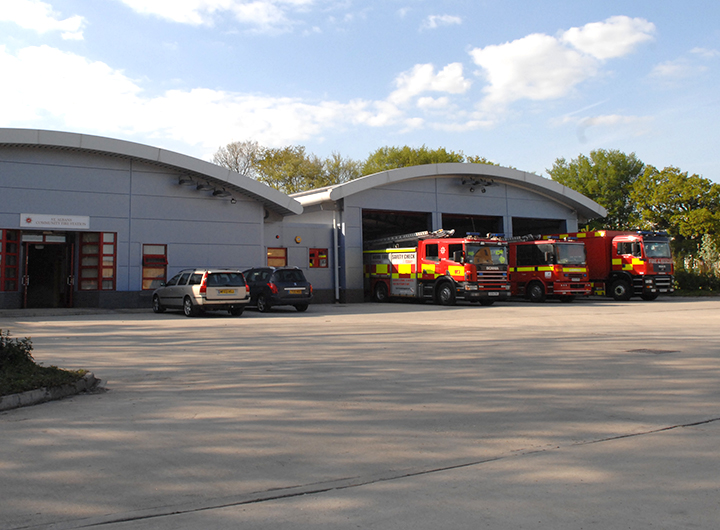 st-albans Fire Station