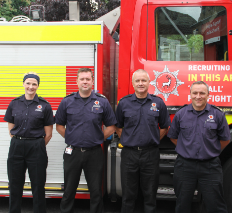 Join our team - Apply to be an on-call firefighter