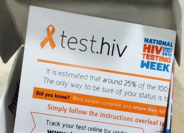 HIV Home Sampling Kit