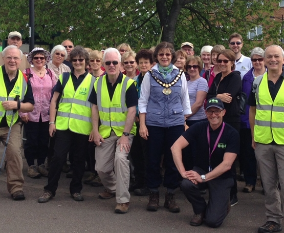 Hertfordshire Health Walks group