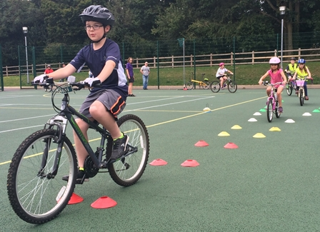 Bikeability – get started with cycling | Hertfordshire County