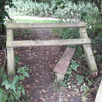 Public right of way gate or stile damaged