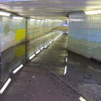 subway flooded