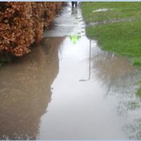 Footway Flooded