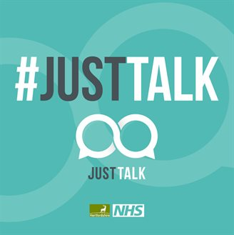 just talk logo