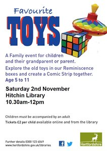 HIT Favourite toys 2nd nov