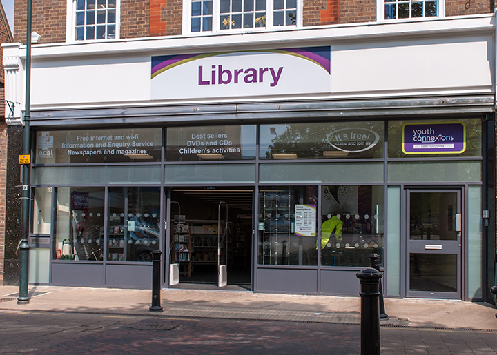 Harpenden Library | Hertfordshire County Council | www hertfordshire
