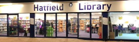 Hatfield Library frontage