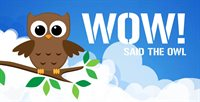 Litfest 19 WOW-SAID-THE-OWL-