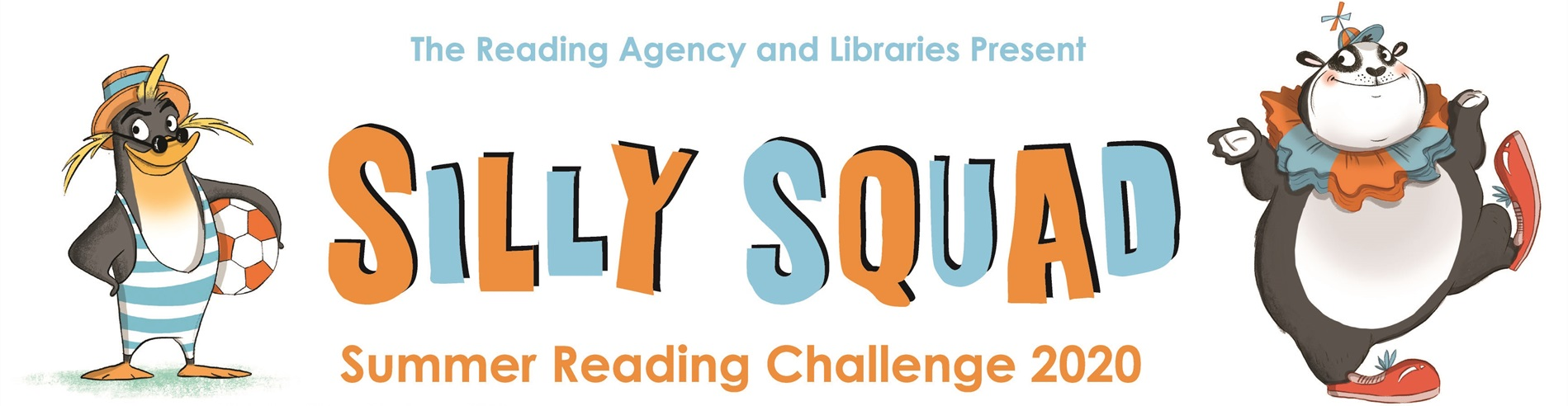 The Reading Agency and Libraries presents: Silly Squad, Summer Reading Challenge 2020