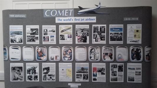 Comet, The world's first jet airliner exhibition