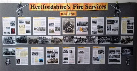 Hertfordshire's Fire Service exhibition
