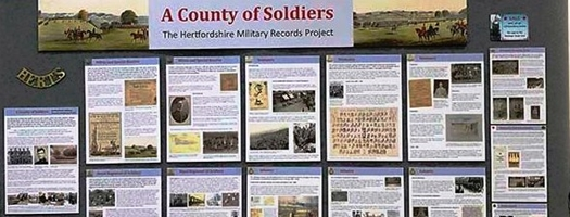 Display - County of soldiers