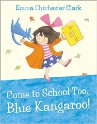 come to school blue kangeroo