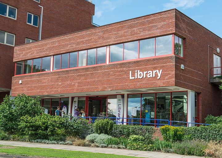 Library In Welwyn Garden City