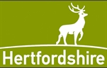 Hertfordshire County Council logo.