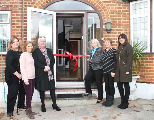 Cllr Colette Wyatt-Lowe offically opens new Watford refuge.
