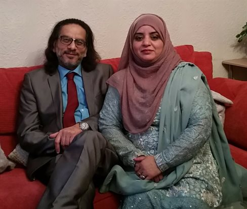 Multifaith fostering - Haleema and Mohammed Khan