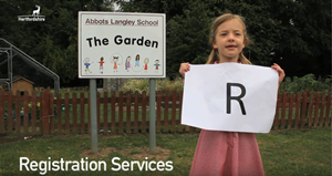R is for registration services