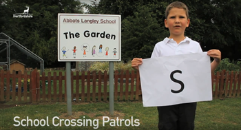S is for school crossing patrol