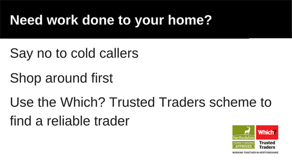 Say no to cold callers