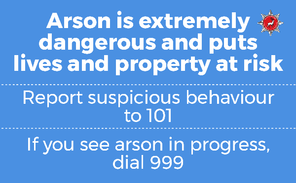Arson is dangerous 600 x 400