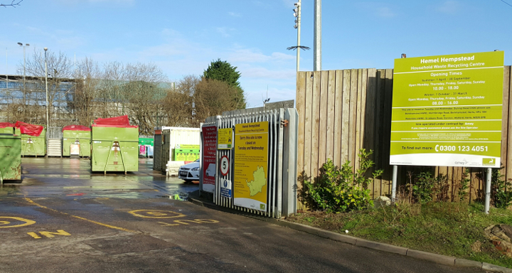 Hemel Hempstead household waste recycling centre