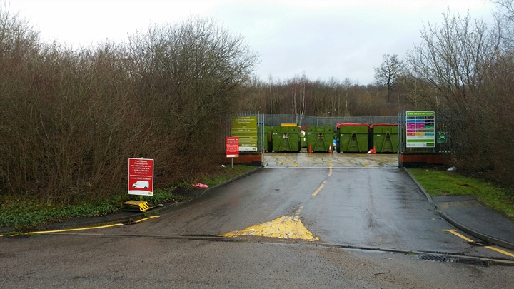 Berkhamsted household waste recycling centre
