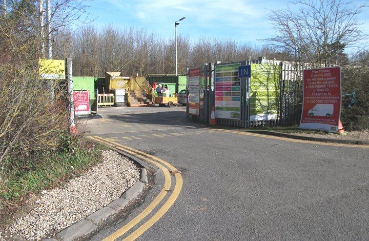 Bishops Stortford household waste recycling centre