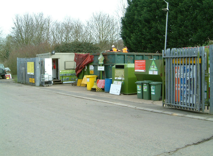Buntingford household waste recycling centre
