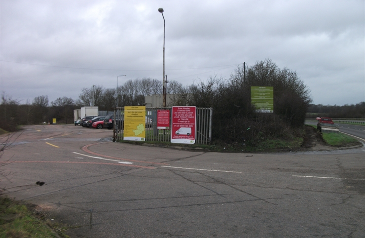 Cole Green household waste recycling centre