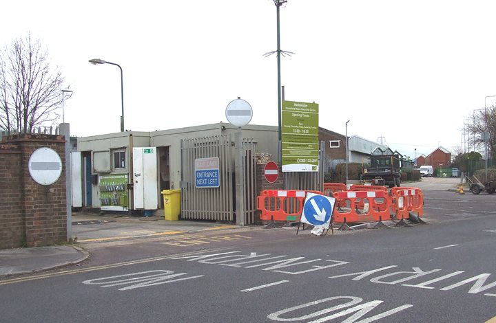Hoddesdon household waste recycling centre