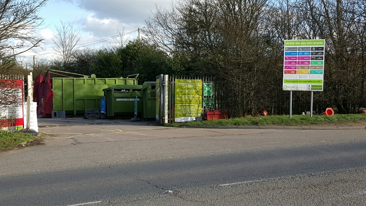 Ware household waste recycling centre