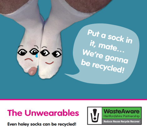 Recycling socks