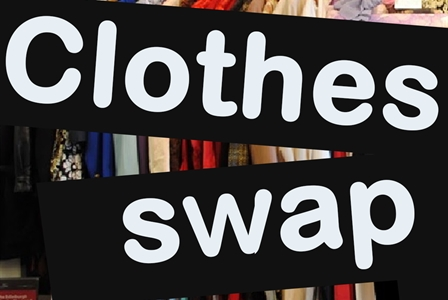 clothes-swap-text-and-clothes-on-rack-448x300