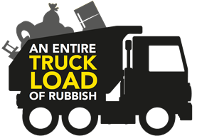 An entire truckload of rubbish